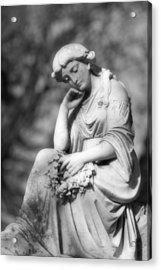 Quiet Contemplation Acrylic Print by Mark J Seefeldt