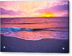 Quiet Evening Acrylic Print