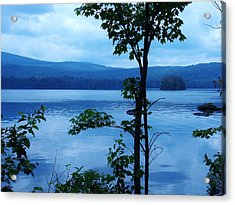 Quiet Lake Acrylic Print by Sarah Buechler