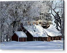 Quiet Snow Acrylic Print