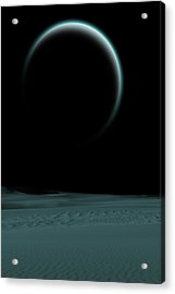 Quiet World Acrylic Print by Angel Jesus De la Fuente