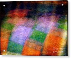Quilt In The Cupboard Acrylic Print by Judi Bagwell