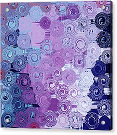 Quilt Seeds No3 Acrylic Print by Bonnie Bruno