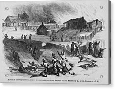 Race Riot In Memphis, Tennessee, May 2 Acrylic Print by Everett