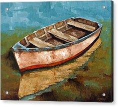 Racien Llegado Acrylic Print by Jose Romero