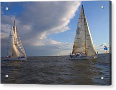 Racing In Annapolis Acrylic Print