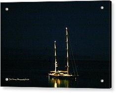 Radiance At Night Acrylic Print