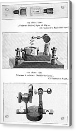 Radio Receiver Components, 1914 Acrylic Print by