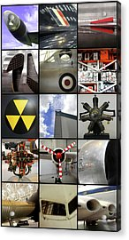 Raf Museum At Cosford Acrylic Print