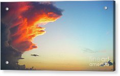 Raging Sky Acrylic Print by Michael Waters