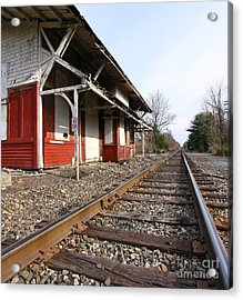 Acrylic Print featuring the photograph Railroad by Denise Pohl