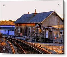 Railway  House Acrylic Print