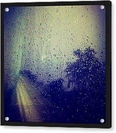 Rain Drops Acrylic Print by Sumit Jain