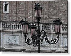 Rain In Venice Acrylic Print