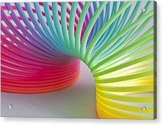 Rainbow 1 Acrylic Print by Steve Purnell
