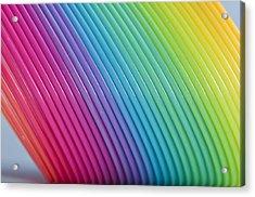Rainbow 6 Acrylic Print by Steve Purnell