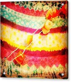 #rainbow #colourful #prettycolors Acrylic Print