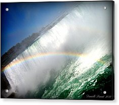 Acrylic Print featuring the photograph Rainbow For The Maid Of The Mist by Danielle  Parent