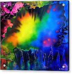 Rainbow Haze Acrylic Print