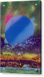 Rainbow Nova Acrylic Print by Marc Chambers