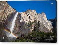 Rainbow On Bridalveil Fall Acrylic Print