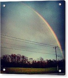 Rainbow Right Acrylic Print