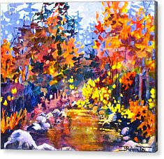 Rainbow River Acrylic Print
