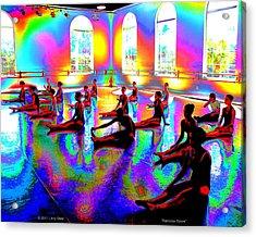 Rainbow Room Acrylic Print