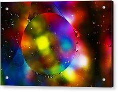 Rainbow Warrior Acrylic Print