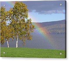 Rainbow's End Acrylic Print