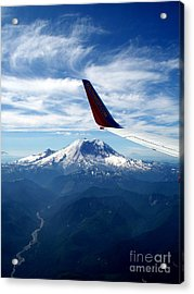 Rainier The Beautiful  4 Acrylic Print