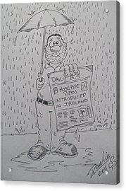 Raining Again 1 Acrylic Print