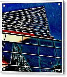 Rains Reflection Acrylic Print