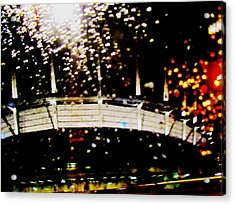 Rainy Bc Place Acrylic Print