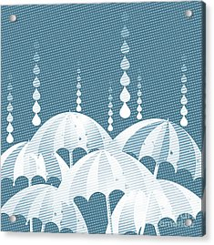 Rainy Day Acrylic Print by HD Connelly