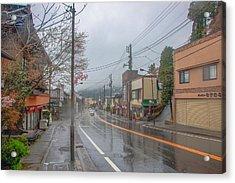 Rainy Day Nikko Acrylic Print