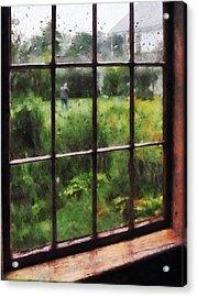 Rainy Day Acrylic Print by Susan Savad