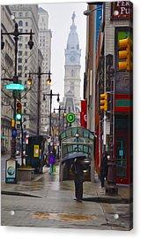 Rainy Days And Sundays Acrylic Print by Bill Cannon