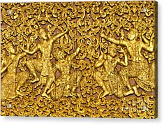 Acrylic Print featuring the photograph Ramayana by Luciano Mortula