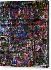 Random 515 Acrylic Print by Andy  Mercer