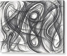 Random Intentions Acrylic Print by Michael Morgan