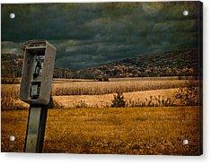 Random Phonebooth Acrylic Print