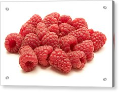 Raspberries Acrylic Print by Fabrizio Troiani