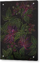 Raspberry Hunting Acrylic Print by Dawn Fairies