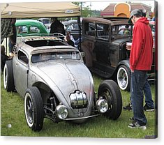 Acrylic Print featuring the photograph Rat Rod Many Parts by Kym Backland