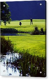 Rathsallagh Golf Club, Co Wicklow Acrylic Print by The Irish Image Collection