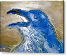 Raven Blues Acrylic Print