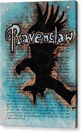 Ravenclaw Eagle Acrylic Print by Jera Sky