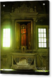 Ravenna Italy - Sant Apollinare Nuovo - Jesus Christ Acrylic Print by Gregory Dyer