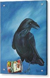 Ravenoli Acrylic Print by Amy Reisland-Speer